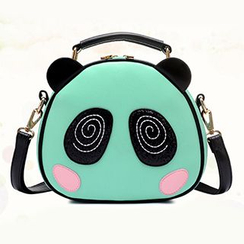 BeiBaoBao - Panda-Accent Cross Bag