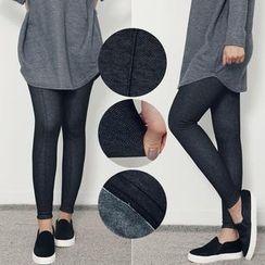 Stylementor - Brushed Fleece-Lined Leggings