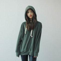 Vintage Vender - Hood Oversized Pullover