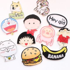 Coolgirl - Cartoon Brooch