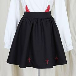 GOGO Girl - Devil Accent A-Line Skirt