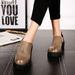Mancienne - Platform Ankle Boots