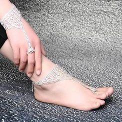 Seirios - Rhinestone Anklet / Bracelet