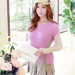 Dabuwawa - Paneled Sweater