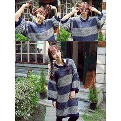LOLOten - Striped Knit Dress