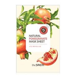 The Saem - Natural Pomegranate Mask Sheet 1pc
