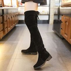 SouthBay Shoes - Over The Knee Boots