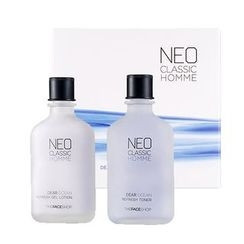 The Face Shop - Neo Classic Homme Dear Ocean Homme Skin Care Set: Toner 110ml + Lotion 110ml