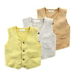 Kido - Kids Single Breasted Vest