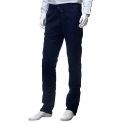 YesStyle M - Buttoned Washed Slim-Fit Jeans