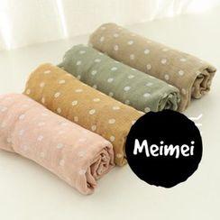 Meimei - 圓點薄款圍巾