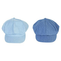 Hats 'n' Tales - Denim Newsboy Cap
