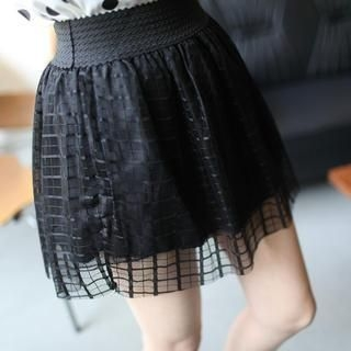 Mini Jule - Tulle A-Line Skirt