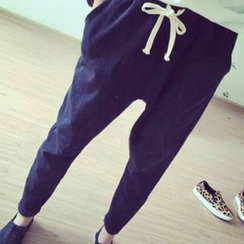 Rollis - Plain Drawstring Sweatpants