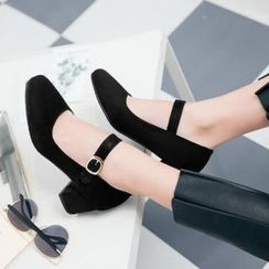 Tomma - Block Heel Pumps
