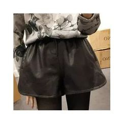 Octavia - Faux Leather Shorts