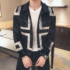 Orizzon - Paneled Buttoned Jacket
