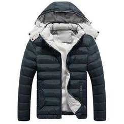 Alvicio - 連帽夾棉夾克