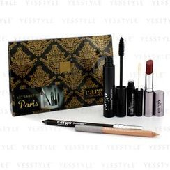 Cargo - Lets Meet In Paris Holiday Kit: 1x Lip Color, 1x Eye Pencil, 1x Lip Primer, 1x Lip Liner, 1x Mascara