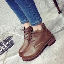 Laceuplux - 系带短靴