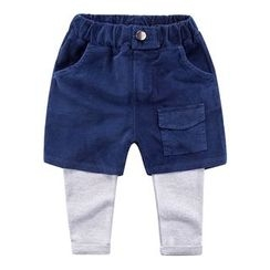 DEARIE - Kids Inset Shorts Leggings