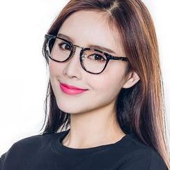Spec Tac - Metal Nose Bridge Square Glasses