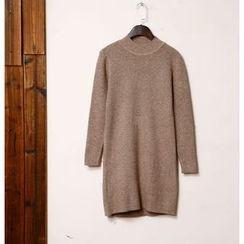 tete - Mock-Neck Knit Top