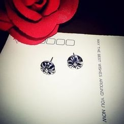 Ticoo - Floral Earrings