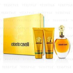 Roberto Cavalli - Roberto Cavalli Coffret: Eau De Parfum Spray 75ml/2.5oz + Body Lotion 75ml/2.5oz + Shower Gel 75ml/2.5oz