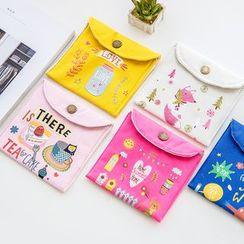 Yulu - 印花衛生巾收納包