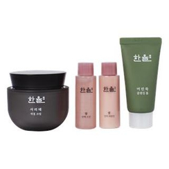 HANYUL - Seo Ri Tae Antiaging Cream Set: Cream 50ml + Rice Essential Skin 18ml + Emulsion 18ml + Mugwort Cleansing Foam 32ml