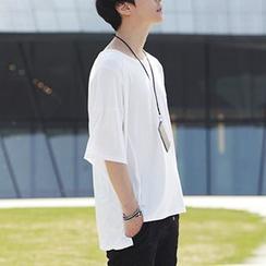 ABOKI - 垂肩T恤