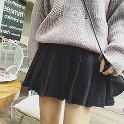 Moon City - Pleated Skirt