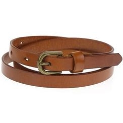 Heehaw - Genuine Leather Skinny Belt