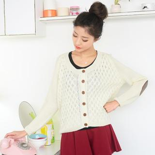 59 Seconds - Elbow Patch Cardigan