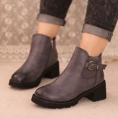 IYATO - Buckled Ankle Boots