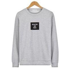 Seoul Homme - Applique-Front T-Shirt