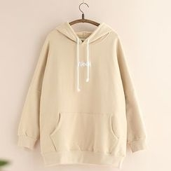 11.STREET - Embroidered Hoodie