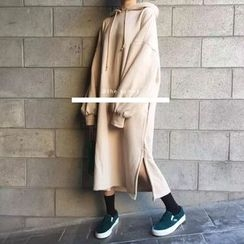 THESUMEY - Hooded Maxi Dress