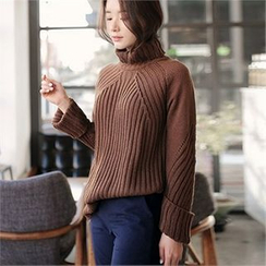 CHICLINE - Trutle-Neck Sweater
