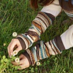 iswas - 彩色條紋袖套