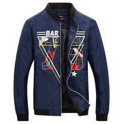 RUYA - Printed Zip Jacket