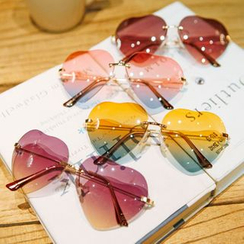 GLAMAX - Heart Sunglasses