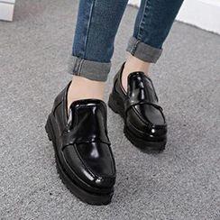 Mancienne - Platform Loafers