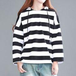 Tulander - Striped Hoodie