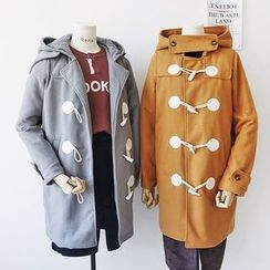 CaraMelody - Toggle Hooded Coat