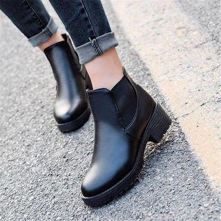 EMIL - Platform Short Boots