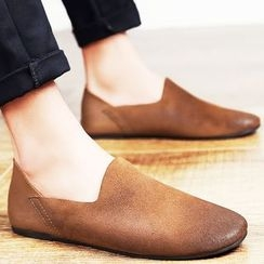 WeWolf - Genuine Leather Slip-Ons