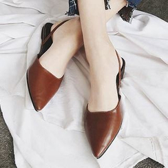 SouthBay Shoes - Pointy Mules