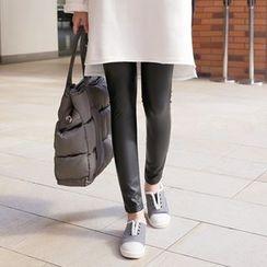 CLICK - Wet-Look Leggings